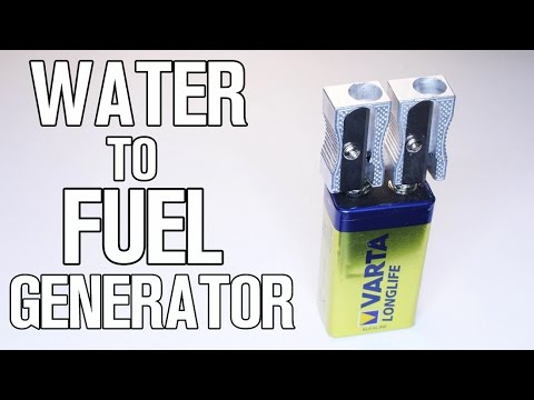 How To Make Water to Fuel Generator