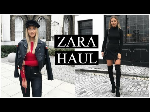 ZARA HAUL & TRY ON | AUTUMN/WINTER OCTOBER 2017