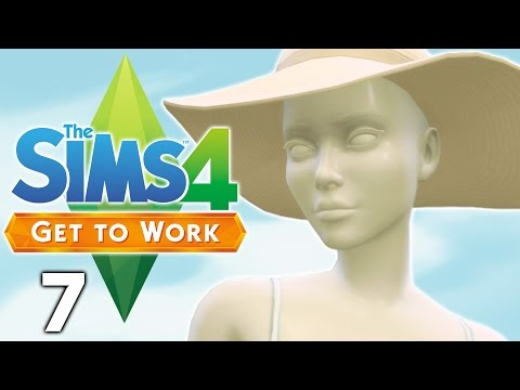 Let's Play The Sims 4 Get to Work - Part 7 - Magnolia Promenade!