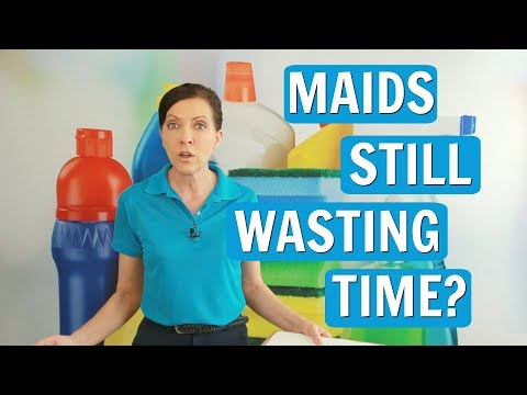 Wasting Time - House Cleaning Employees Waste Time
