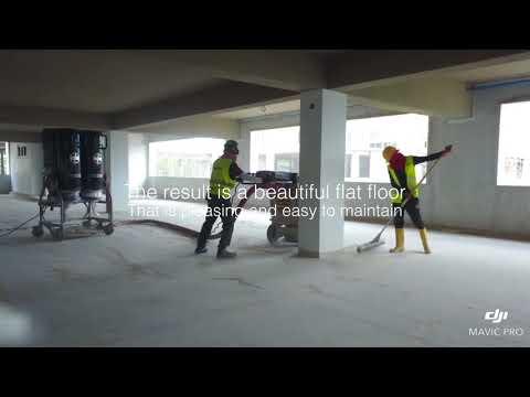 How to repair rough concrete floor