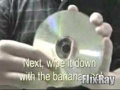 CD / DVD Banana Scratch Remover