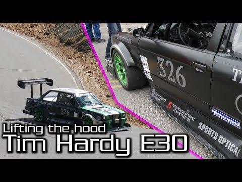 Tim Hardy Racing Pikes Peak BMW E30 Aero Walkaround   Lifting The Hood