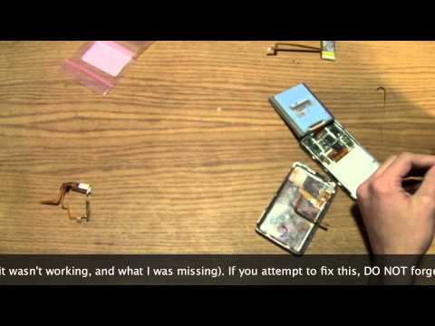 iPod Video Headphone Jack and Hold Switch Part Repair