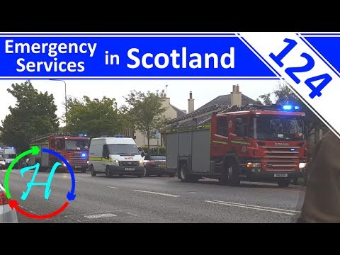 4K - Old Victoria Hospital Fire - MP9 / Level 3 Fire - Ep.124 - Emergency Services in Scotland