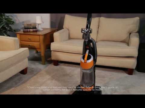 CleanView® Bagless Vacuum Cleaner - Clearing a Clog