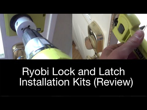 Ryobi lock and latch installation kits (Review)