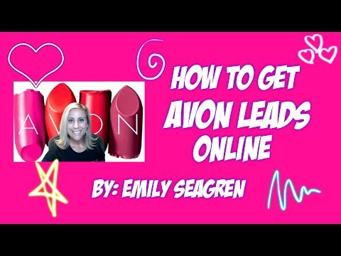 How to get Avon Leads Online