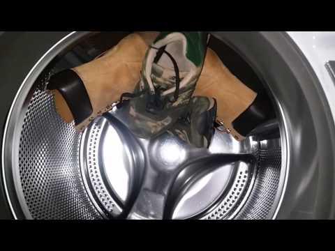 Washing Borrowed, Musty Timberland Boots