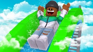 SLIDING 9999 FT IN ROBLOX