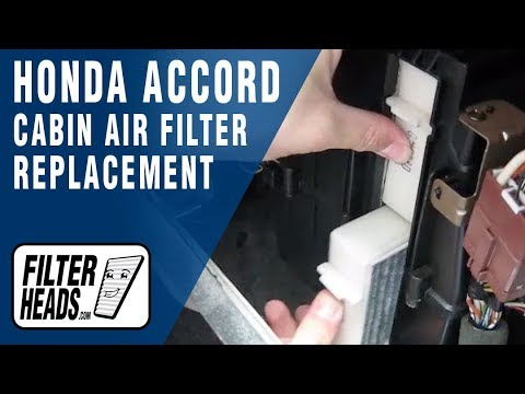 How to Replace Cabin Air Filter Honda Accord