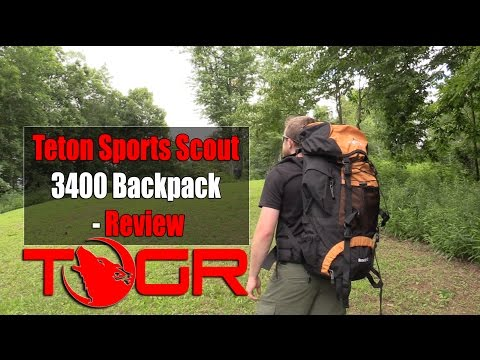 Inexpensive and Tough! - Teton Sports Scout 3400 Backpack - Review