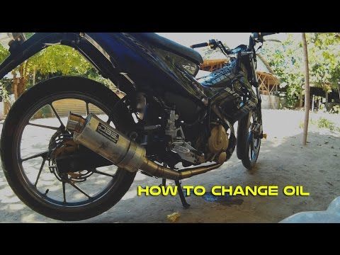 HOW TO CHANGE OIL YOUR MOTORCYCLE