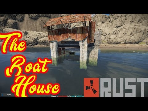 The Boat House | New Boats!!!! | Fits 2 Boats | Cheap | Rust Ep 57