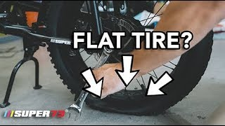 Got A Flat? Worry No More! How to Fix a Flat on Your Super73