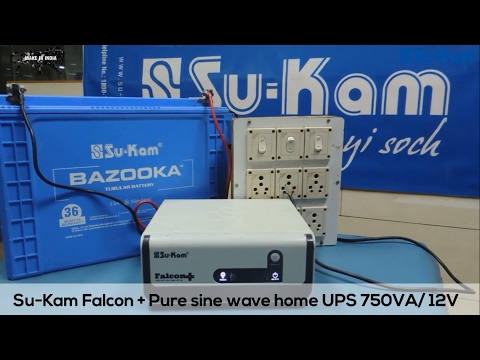 How to repair a Pure Sine Wave Inverter ? Su-Kam Falcon Plus