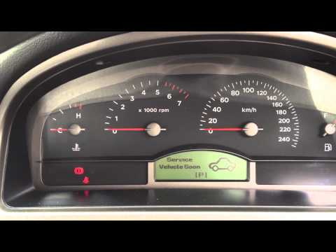 Holden Commodore VZ V6 Service Vehicle Soon SVS reminder fault