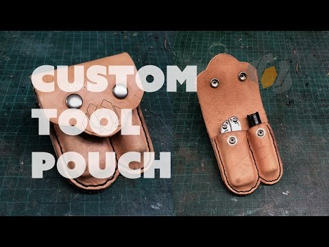 Prop: Live from the Shop - Making a Custom Leather Tool Pouch
