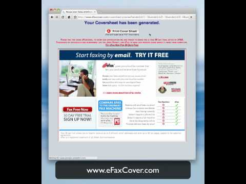 Create Free Fax Cover Sheet Template