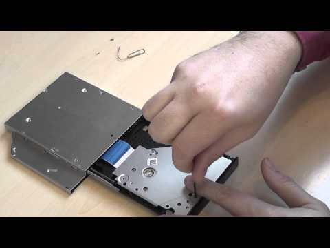 How To Clean Slim DVD Drive Lens and Laser From Dust