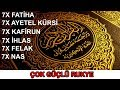 Download  7× Fatiha|7× Ayatul Kursi|7× Kafiroon|7× Ikhlas|7× Falaq|7× Nas|Ruqyah-Sehr-EvIL-Magic-JiNN MP3,3GP,MP4
