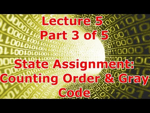 Lecture 5.3 - State Assignment: Counting Order & Gray Code (Mx1)