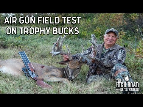 Big Bore Air Gun Hunting for Trophy Whitetails