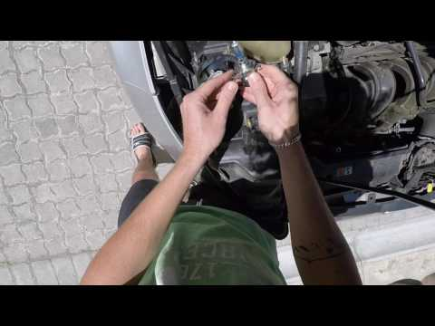 Ford Fiesta Light Bulb Change, How To...