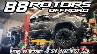 2018 Toyota Tacoma Kings Lift & Volk TE37X in Bronze & BMC