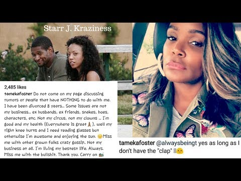 Tameka Foster Responds to Usher Having Herpes: THAT HAS NOTHING TO DO WITH ME!