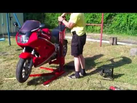 motorcycle lift DIY