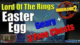 Borderlands 2 | Lord of the Rings Easter Egg | Full Guide to ... on