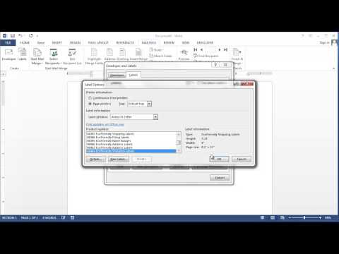 How to Make a Nameplate in Microsoft Word : Applying Microsoft Word Knowledge