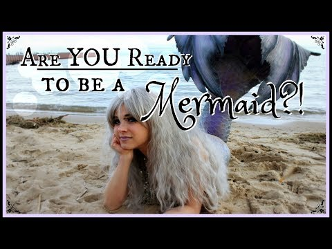How do I Turn into a Mermaid?! HOW TO BECOME A REAL MERMAID VIDEOS (Mermaid Transformation Series) ♥