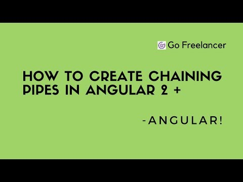 How to create Chaining pipes in Angular 2 +