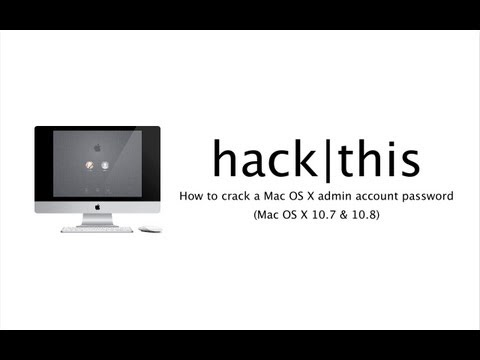 How To: Recover A Lost Mac OS X Administrator Account Password (Mac OS X 10.7 and 10.8)