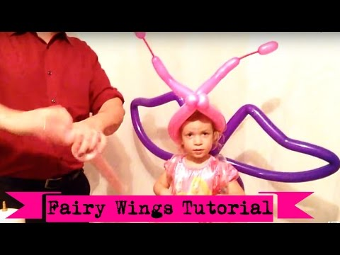How to make Fairy wings from balloons