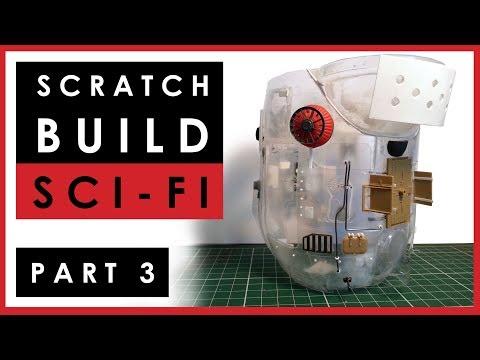 Progress on my scratch build Sci-Fi 1/35 scale model - Part 3