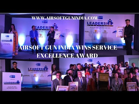Airsoft gun india wins SERVICE EXCELLENCE AWARD