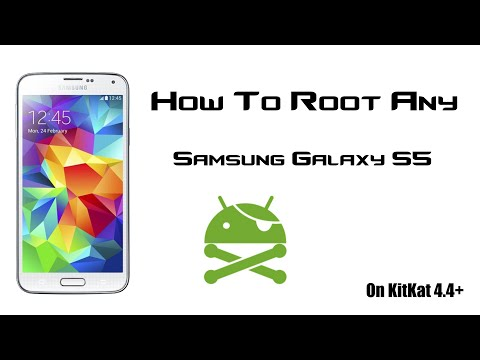 HOW TO ROOT ANY SAMSUNG GALAXY S5 (SM-G900F,SM-G900H,SM-G900I,SM-G900L-etc) - 4.4+ - QUICK TUTORIAL