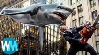 Top 10 Hilarious Movie Shark Attacks