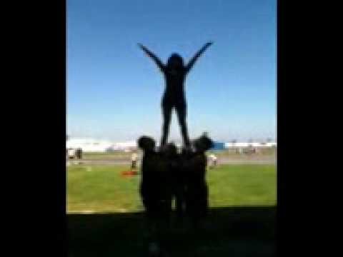 Teaching the Boys How To Stunt for the Cheer Senior Dance
