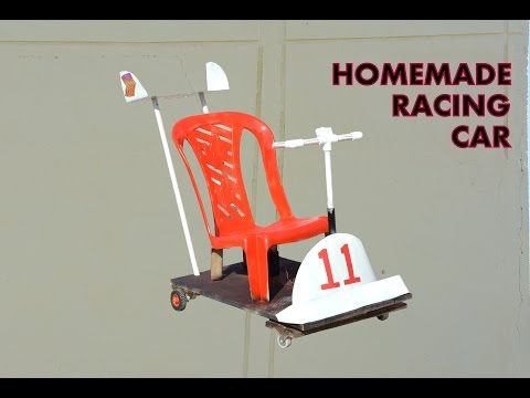 How to Make Racing Car for Kids - at Home