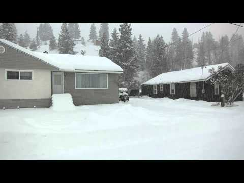 Lots of snow in Princeton, BC Canada! January 5, 2015