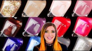 Zoya Winter 2019 Twinkling Nail Polish Collection || KELLI MARISSA