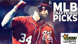 4/3/18 MLB DRAFTKINGS PICKS