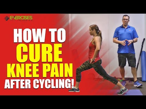 How to CURE Knee Pain After Cycling!