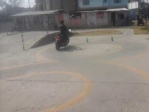 New Driving license test for 2 wheelers in NEPAL