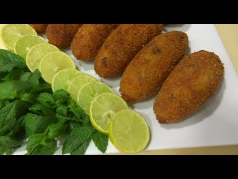 Egg and Potato Kebab  Recipe طرز تهیه کباب تخم و کچالو