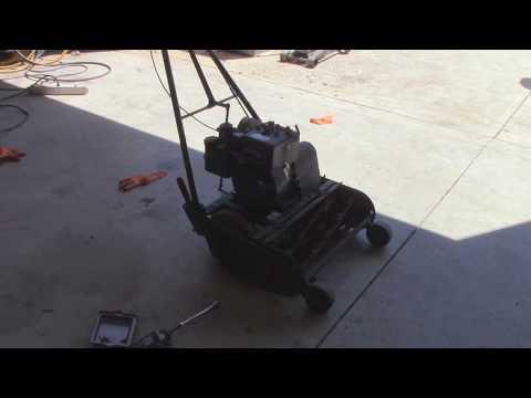 Getting a California Trimmer Mower Running Again